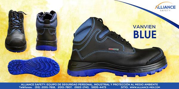 a5f0282ea8 Vanvien Blue Café Borceguí     Calzado de seguridad industrial     Alliance  Safety